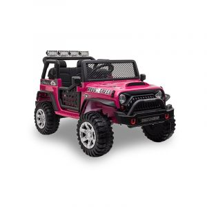 Kijana coche eléctrico para niños Jeep rosa
