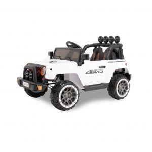 Kijana coche eléctrico para niños Jeep blanco