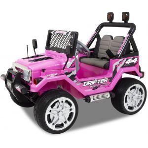 Jeep coche eléctrico para niños Flame rosa
