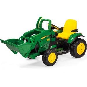 Peg Perego kindergrondlader groen John Deere