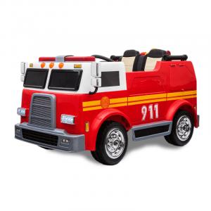 Kijana coche de bomberos eléctrico de 2 plazas