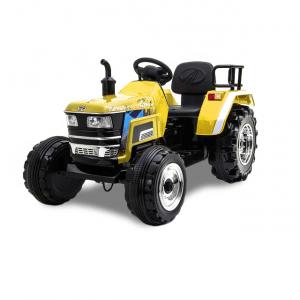 Kijana tractor eléctrico amarillo 12V