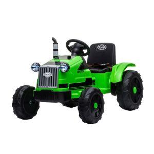 Kijana tractor eléctrico para niños verde