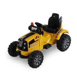 Kijana tractor eléctrico amarillo