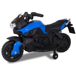 Kijana motocicleta eléctrica para niños 6V azul