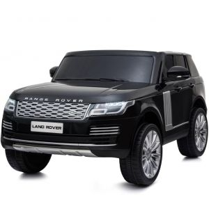 Range Rover coche eléctrico para niños 2 plazas negro