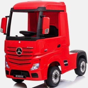 Mercedes camión eléctrico para niños Actros rojo