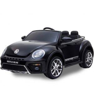 Volkswagen coche eléctrico para niños Dune Beetle negro