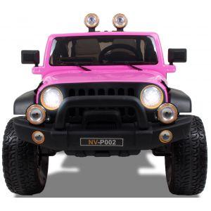 Kijana coche eléctrico para niños estilo Jeep 2 plazas rosa