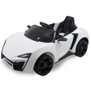 Kijana coche eléctrico para niños Spider blanco