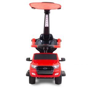Ford correpasillos con parasol Ranger rojo