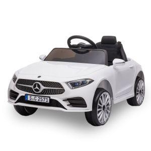 Mercedes coche eléctrico para niños CLS350 blanco