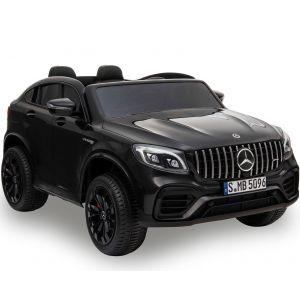 Mercedes elektrische kinderauto GLC63s 2-zits zwart
