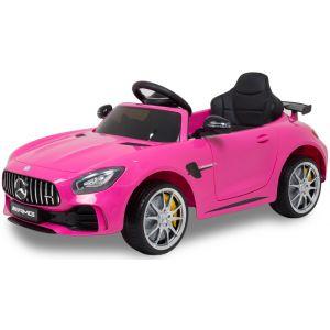 Mercedes coche eléctrico para niños GTR rosa