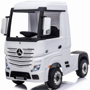 Mercedes camión eléctrico para niños Actros blanco