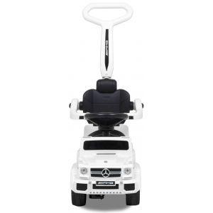 Mercedes loopauto G-klasse met 6 wielen wit