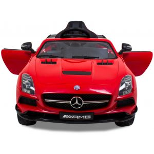 Mercedes kinderauto AMG SLS rood
