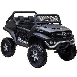 Mercedes coche eléctrico para niños Unimog Mini negro