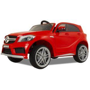 Mercedes coche eléctrico para niños A45 rojo