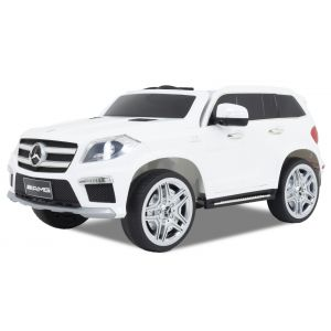 Mercedes coche eléctrico para niños GL63 AMG blanco