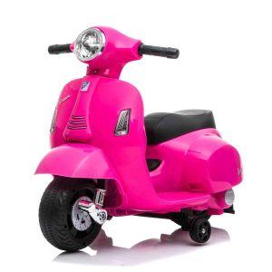 Mini vespa scooter eléctrico para niños rosa