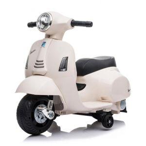 Mini vespa scooter eléctrico para niños blanco