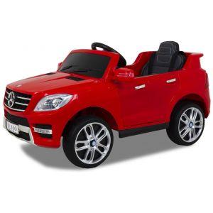 Mercedes coche eléctrico para niños ML350 rojo