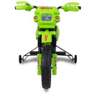 Elektrische kindermotor groen