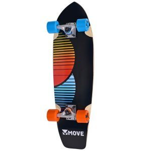 Move skateboard Cruiser chill