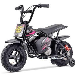 Kijana motocicleta eléctrica para niños 24V - 250W Outlaw rosa