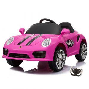 Kijana coche eléctrico para niños speedy estilo porsche rosa