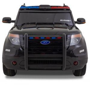 Politie Jeep Ford style zwart