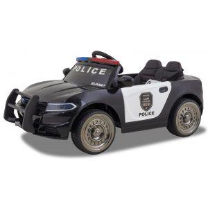 Kijana coche de policía eléctrico para niños estilo Ford negro