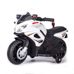 Kijana motocicleta eléctrica para niños estilo policia