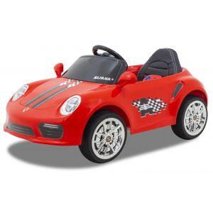Kijana coche eléctrico para niños speedy Porsche estilo rojo