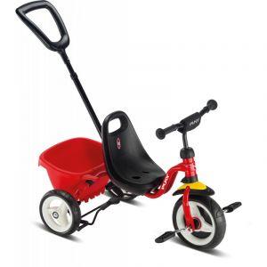 Puky triciclo Creety rojo