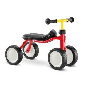 Puky bicicleta sin pedales Pukylino rojo