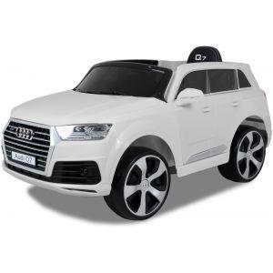 Audi coche eléctrico para niños Q7 blanco