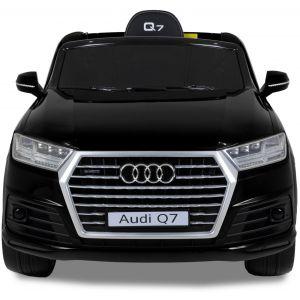 Audi kinderauto Q7 zwart grill voorlichten voorruit motorkap