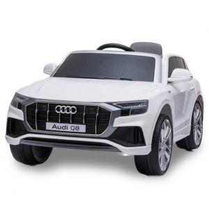 Audi coche eléctrico para niños Q8 blanco