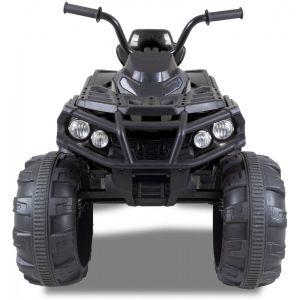 quad kinderquad zwart elektrisch