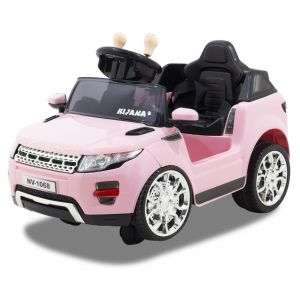 Kijana coche eléctrico para niños Evoque style rosa