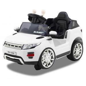 Kijana coche eléctrico para niños estilo Evoque blanco