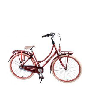 SALUTONI excelente bicicleta urbana 28 pulgadas 50 centímetros burdeos 95% ensamblada