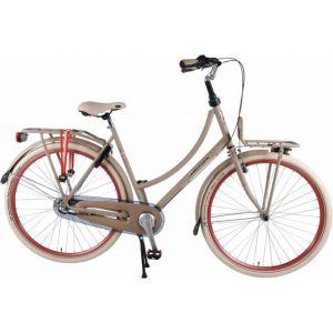 SALUTONI excelente bicicleta de ciudad para dama 28 pulgadas 50 centímetros arena Shimano Nexus 3 marchas 95% ensamblada