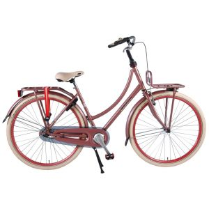 SALUTONI Excelente bicicleta de ciudad para dama 28 pulgadas 50 centímetros rosa viejo 95% ensamblada