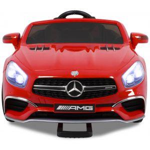 Mercedes kinderauto SL65 rood met video scherm