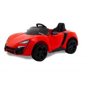 Kijana coche eléctrico para niños Spider rojo