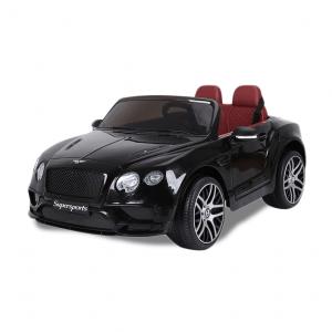 Bentley coche eléctrico para niños Bentley Continental Supersports negro