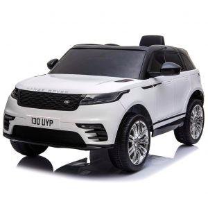 Land Rover coche eléctrico para niños Velar blanco